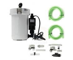 Filtre Filtre Externe de réservoir de Poisson de Dessus de Table de Filtre de réservoir de l'aquarium 6W 400L / H 220V 110V HW-602B HW-603B HW-602 HW-603 (Color : Jp450g Pump, Size : 220v 60hz)