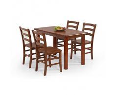 JUSThome Table de salle ? manger Dinner 115 en Bois Cerisier (LxlxH): 115/68/74 cm