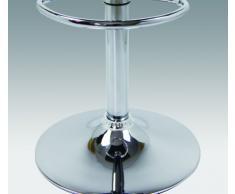 WOLTU BH11ws Tabouret de bar lot de 2 design en similicuir et métal chromé, tabourets 48a717df331e