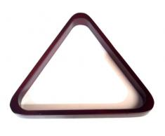 WOODEN MAHOGANY POOL TABLE TRIANGLE TO FIT AMERICAN 2 1/4 POOL BALLS (S196)** by SGL