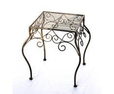 DanDiBo Fleur Tabouret 140102 Sellette Porte Plante Table d'appoint escalier, XL H-40cm