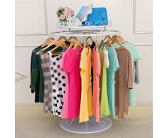 Cadre rond Rack de vêtements Style européen Porte-manteau en fer Présentoir Habillement pour enfants Étagères Sous-vêtements Rack Round Nakajima ( taille : 70*120cm )