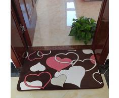 Hall d'entrée Salon Chambre Cuisine Tapis, anti-dérapant long escalier Tapis, Tapis, Tapis (15 Options de couleur 11 Tailles sélectionnable 40-80cm * 60-160cm) ( couleur : C , taille : 50*80cm )