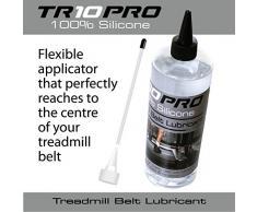 TR10Pro Lubrifiant à l'huile de silicone pour tapis de course 100% pour applicateur de flux de contrôle très long pour tapis de course tapis 500ml facile à utiliser sur tous les tapis roulants