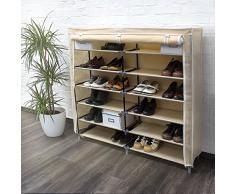 meuble chaussures en tissu acheter meubles chaussures en tissu en ligne sur livingo. Black Bedroom Furniture Sets. Home Design Ideas