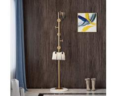 GAOLIHUA Portemanteau debout simple et moderne couleur de la mer moderne hall d'entrée arbres manteau stand vêtements rack vêtements chambre couloir Portemanteaux