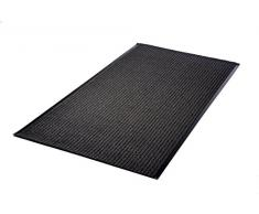 Acerto - Tapis anti-poussière gris 90 cm de large - jusqu'à 10 mètres de long - tapis d'intérieur paillasson extrêmement durable - 100 cm, Gris