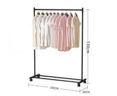 Multi-couleur, multi-style, cintres d'intérieur / rack de séchage simple rack / rack de vêtements pliable / pendentif, style simple ( Couleur : Rose , style : A )