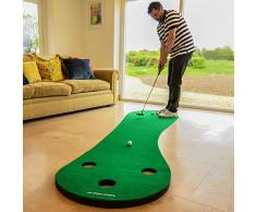 FORB Tapis de Putt (3m/3,7m de Long) - Entraînez Le Putting chez Vous ! [Net World Sports] (3m)