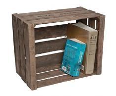 Original Cagette à fruits en du Vieux-Pays - stable Escalier pour étagère- & Construction de meubles Nature