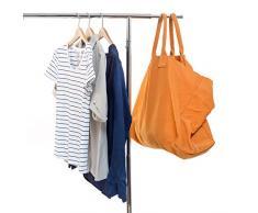 Basics matériel élégant Commercial Grade Vêtements Tringle à vêtements, extensible à suspendre Rack, Chrome