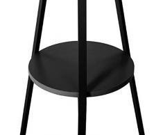 """Paris Prix - Porte Manteau Design """"Arbre"""" 180cm Noir"""