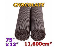 Medipaq® 2 X Préhenseur rouleaux – chaque One est 30,5 cm Large x 190,5 cm Long (190 x 30.5 cm) = Plus de 11,600 CM2 au total – Ultimate 400 g/m² – Extra épais tapis de sol,, plateau, tiroir Grip – 100 de