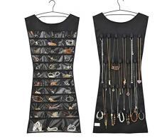 vobome Bijoux créatifs Sac Suspendu Chaussettes Soutien-Gorge sous-vêtements Stockage Rack Cintre Organisateurs à Poches pour lit