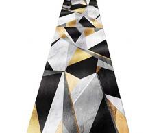 ZRUYI Tapis Couloir Tapis De Passage Dallée Impression en 3D Extra Long Moderne Ménage Tapis, Taille Personnalisable (Color : A, Size : 0.6x3m)