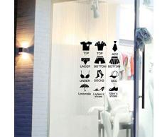 zhenfa Poster Jeux de Papier 1 des Autocollants repositionnables Bricolage de muraux décoratifs Autocollants Chaussures armoires de Rangement Mural décoratif-Armoire Autocollants