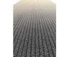 Acerto - Tapis anti-poussière gris 90 cm de large - jusqu'à 10 mètres de long - tapis d'intérieur paillasson extrêmement durable - Gris, 200 cm