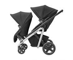 bébé confort Lila Duo Kit Assise Supplémentaire pour Poussette Lila Dès 6 Mois Jusquà 3 5 Ans Environ Nomade Black
