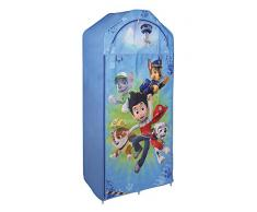 Fun House 712545 Pat'Patrouille Penderie avec Etagère pour Enfant Intissé 70 x 43 x 157 cm