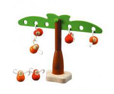 PlanToys - PT5349 - Jouet en bois - Jeu déveil - Singes Equilibrants