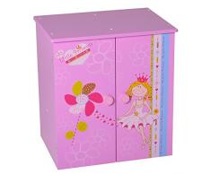 Knorrtoys My Little Princesse 67304 Poupées Armoire Rose