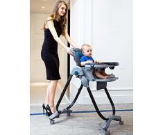 XWZ Chaise de repas pour bébé Chaise pliante multifonctionnelle pour bébé Divers ( couleur : Vert )