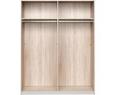 CS Schmalmöbel 75.569.051/43 Armoire à portes coulissantes Bois Chêne 61 x 150 x 193 cm