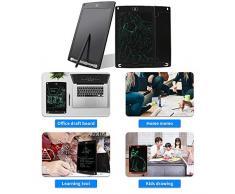 homese Tablette décriture LCD, planche de dessin et décriture de 8,5 pouces pour enfants et adultes, bloc de papier décriture pour bureau décolier, vert