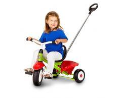 Kettler - T03025-0000 - Vélo et Véhicule pour Enfant - Tricycle - Funtrike Emma avec Canne Amovible - Acier
