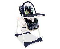 Chaise haute pliante évolutive Baby Fox Élégant 'Animaux du monde'