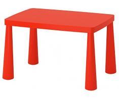Table d'enfant Ikea MAMMUT - Avec 2 chaises - IK15-CZER