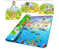 niceEshop(TM) Tapis de Jeux pour Bébé et Enfants (Multicolore)