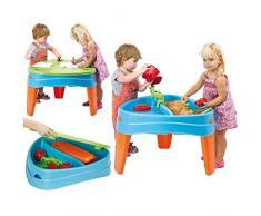 FEBER Play Island - Table de jeux au design dîle, pour enfants de 2 à 6 ans, Bleue (Famosa 800010238)