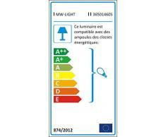 Plafonnier ludique pour enfant en acryl coloré, pour chambre d'enfant Ø50cm 5 ampoules non-incl. E14 5x40W 230V