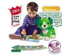 Leapfrog - 81301 - Jouet de Premier Age - Peluche interactive - Lis avec Scout