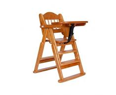 Little World Chaise Haute Pliante En Bouleau