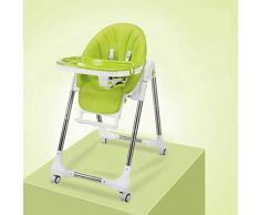Axiba Maman aime chaise haute pliante pour chaises hautes portables bébé avec roues