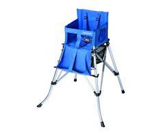 FemStar P71855-H Fem One2Stay 2.0 Chaise haute pliante avec ceinture de sécurité 5 points