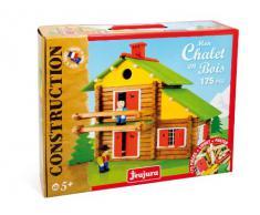 JeuJura - Jouet en bois - Chalet Suisse - 175 Pieces