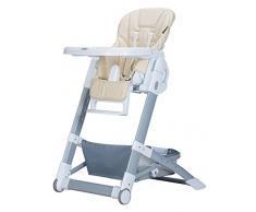 XWZ Chaises de bébé Chaise de repas pour enfants Chaise multifonctionnelle pliante Chaises de bébé chaises Tables de repas et chaises Baby Dining Chair Divers ( couleur : Beige )