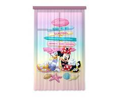 AG design fCC l/4107 rideau voilage pour chambre d'enfant disney mickey mouse