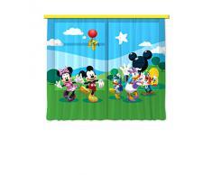 AG design fCC xl/6307 rideau voilage pour chambre d'enfant disney mickey mouse