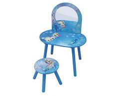 Fun House - 712419 - Coiffeuse Avec Tabouret Reine Des Neiges pour enfant