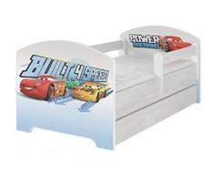 Hogartrend Lit pour enfant Collection Disney CARS MC QUEEN