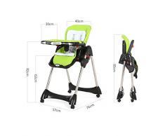 chaise haute Chaise à dîner Chaise à manger pour bébés Chaise pour bébé portable pliante pour enfants Table et chaises multifonctions en plastique multifonction chaise haute poupon bois