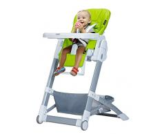 XWZ Chaises de bébé Chaise de repas pour enfants Chaise multifonctionnelle pliante Chaises de bébé chaises Tables de repas et chaises Baby Dining Chair Divers ( couleur : Vert )