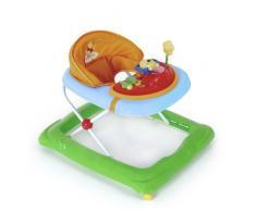 Hauck / Player / Trotteur Bebe Disney de 6 Mois à 12 kg / Marcheur avec Musique / Aide à la Marche avec Centre dÉveil et Roues / Assise Rembourrée Amovible / Réglable en Hauteur / Pooh (Multicolore)