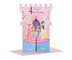 "Hallmark Carte d'anniversaire Disney Princesse 4 ""Château Pop Up – Taille M"