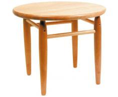 Table en bois vernis enfant