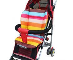 Domybest complète Coton épaissir bébé chariot Hippomobile Parapluie Dessin animé Coussin